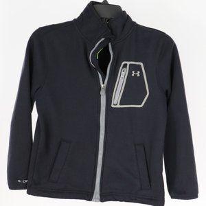 Under Armour KIDS Zipper Sweatshirt black Size M